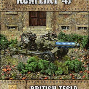 Warlord Games Konflikt '47  British (K47) British Tesla Anti-Tank Gun - 452210603 - 5060572500785