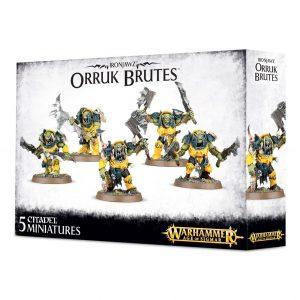 Games Workshop Age of Sigmar  Orruk Warclans Orruk Brutes - 99120209030 - 5011921070275