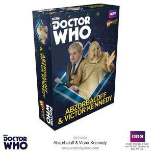 Warlord Games Doctor Who  Doctor Who Doctor Who: Abzorbaloff & Victor Kennedy - 602210131 - 5060393707547
