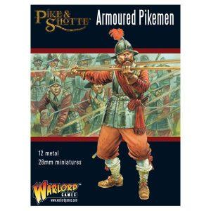 Warlord Games Pike & Shotte  The English Civil Wars 1642-1652 Pike & Shotte Armoured Pikemen - 202213001 - 5060393706021