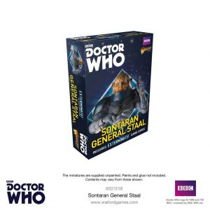Warlord Games Doctor Who  Doctor Who Doctor Who: Sontaran General Staal - 602210105 - 5060393709480