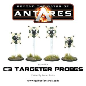 Warlord Games Beyond the Gates of Antares  PanHuman Concord Concord C3 Targeter Probes - WGA-CON-26 - 5060393701514