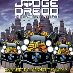 Warlord Games Judge Dredd RPG  Judge Dredd RPG Judge Dredd & The Worlds of 2000 AD RPG Core Rulebook - ENP2000 - 978-1-912007-70-7