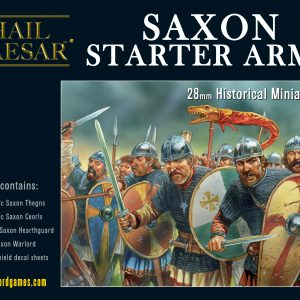 Warlord Games Hail Caesar  The Dark Ages Saxon Starter Army - 109913002 - 5060393709909