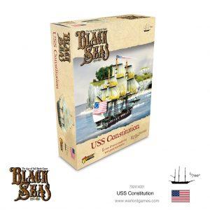 Warlord Games Black Seas  Black Seas Black Seas: USS Constitution - 792414001 - 5060572505360
