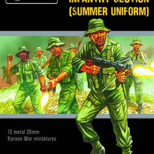 Warlord Games Bolt Action  Great Britain (BA) Korean War British Infantry Section (summer) - 402218002 - 5060572504615