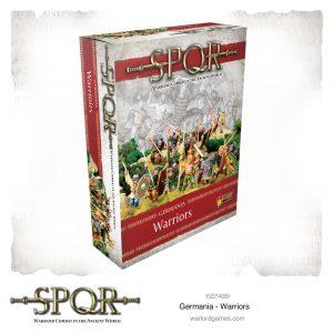 Warlord Games SPQR  SPQR SPQR: Germania Warriors - 152214009 - 5060572505285