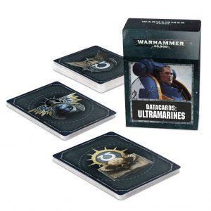 Games Workshop Warhammer 40,000  Ultramarines Datacards: Ultramarines - 60220101014 - 5011921125081