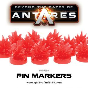 Warlord Games Beyond the Gates of Antares  Antares Essentials Pin Markers - WGA-PIN-01 - 5060393702481