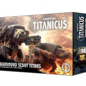 Games Workshop Adeptus Titanicus  Adeptus Titanicus Adeptus Titanicus: Warhound Scout Titans - 99120399006 - 5011921112098