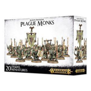 Games Workshop Age of Sigmar  Skaven Pestilens Skaven Pestilens Plague Monks - 99120206021 - 5011921063239