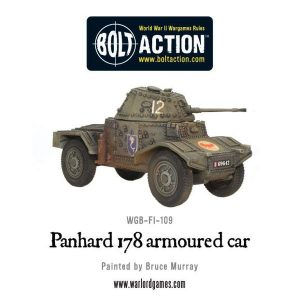 Warlord Games Bolt Action  France (BA) Panhard 178 Armoured Car - 402415501 -