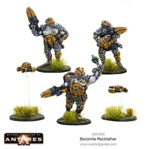 Warlord Games Beyond the Gates of Antares  Boromite Guilds Boromite Rockfather - WGA-BOR-503012005 -