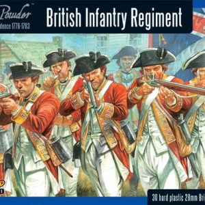 Warlord Games Black Powder  American War of Independence British Infantry Regiment - WGR-AWI-01 - 5060393702580