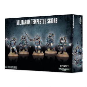 Games Workshop Warhammer 40,000  Astra Militarum Tempestus Scions / Command Squad - 99120105075 - 5011921092437