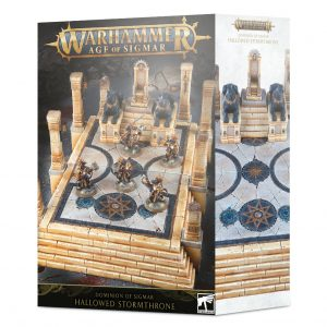 Games Workshop (Direct)   Age of Sigmar Terrain Dominion of Sigmar: Hallowed Stormthrone - 99120299055 - 5011921118472
