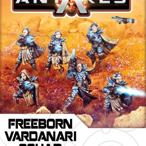 Warlord Games Beyond the Gates of Antares  Freeborn Freeborn Vardanari Squad - WGA-FRB-03 - 5060393702108