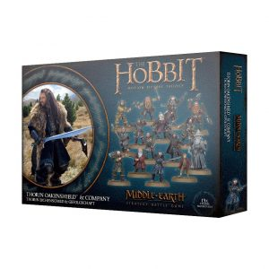 Games Workshop Middle-earth Strategy Battle Game  Good - The Hobbit The Hobbit: Thorin Oakenshield & Company - 99121499039 - 5011921114962