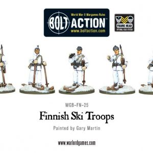 Warlord Games Bolt Action  Finland (BA) Finnish Ski Troops - WGB-FN-25 - 5060200848845