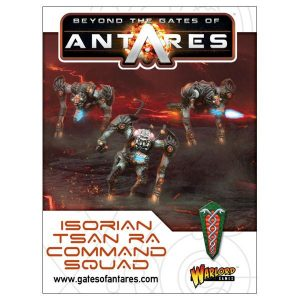 Warlord Games Beyond the Gates of Antares  Isorian Senatex Tsan Ra Command Squad - 502216001 - 5060393707332