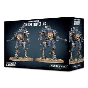 Games Workshop Warhammer 40,000  Imperial Knights Imperial Knights Armiger Helverins - 99120108015 - 5011921095674