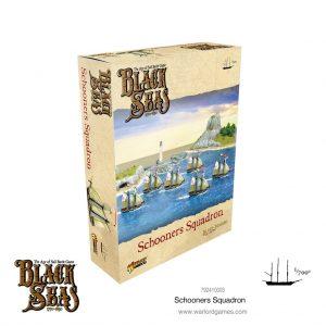 Warlord Games Black Seas  Black Seas Black Seas: Schooners Squadron - 792410003 - 5060572505797