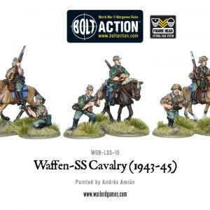 Warlord Games Bolt Action  Germany (BA) Waffen-SS Cavalry - WGB-LSS-15 - 5060393701545