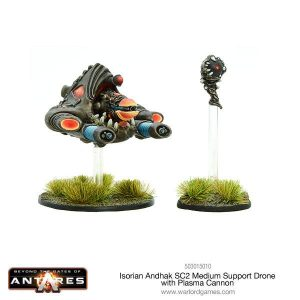 Warlord Games Beyond the Gates of Antares  Isorian Senatex Isorian Andhac Plasma Drone - 503015010 - 5060393705666
