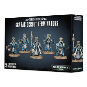 Games Workshop Warhammer 40,000  Thousand Sons Thousand Sons Scarab Occult Terminators - 99120102066 - 5011921079735