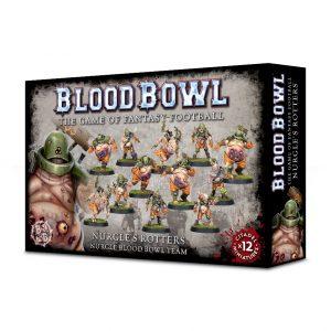 Games Workshop Blood Bowl  Blood Bowl Blood Bowl: Nurgle's Rotters Team - 99120901002 - 5011921112586