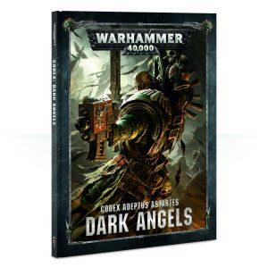 Games Workshop Warhammer 40,000  Dark Angels Codex: Dark Angels - 60030101039 - 9781788260558