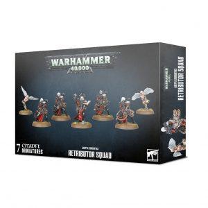 Games Workshop Warhammer 40,000  Adepta Sororitas Adepta Sororitas Retributor Squad - 99120108038 - 5011921131211