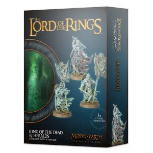 Games Workshop Middle-earth Strategy Battle Game  Good - Lord of the Rings Lord of The Rings: King of the Dead & Heralds - 99121466014 - 5011921125630
