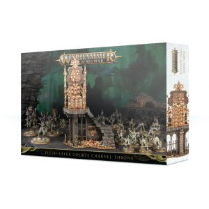 Games Workshop (Direct) Age of Sigmar  Age of Sigmar Terrain Flesh-eater Courts Charnel Throne - 99120207070 - 5011921118779