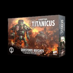 Games Workshop Adeptus Titanicus  Adeptus Titanicus Adeptus Titanicus: Questoris Knights - 99120399014 - 5011921127283