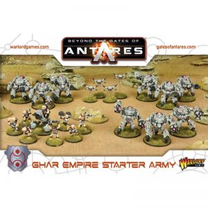 Warlord Games Beyond the Gates of Antares  Ghar Empire Ghar Empire Starter Army - WGA-ARMY-05 - 5060393702634