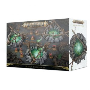 Games Workshop Age of Sigmar  Age of Sigmar Terrain Skaven Gnawholes - 99120206028 - 5011921118793