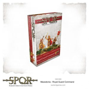 Warlord Games SPQR  SPQR SPQR: Macedonian Royal Guard Command - 153012003 - 5060572504899