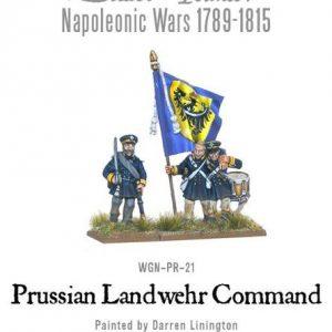 Warlord Games Black Powder  Prussians (Napoleonic) Prussian Command - WGN-PRU-22 -