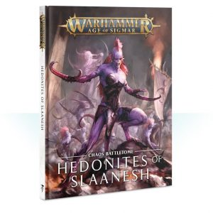 Games Workshop Age of Sigmar  Hedonites of Slaanesh Battletome: Hedonites of Slaanesh - 60030201021 - 9781788265027