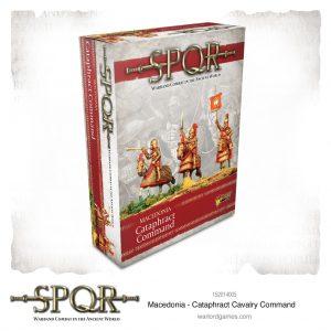Warlord Games SPQR  SPQR SPQR: Macedonian Cataphract Command - 152014005 - 5060572505124