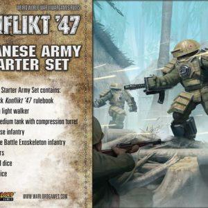Warlord Games Konflikt '47  Japan (K47) Japanese K47 Starter Set - 451511201 - 5060393708001