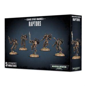 Games Workshop Warhammer 40,000  Chaos Space Marines Chaos Space Marines Raptors / Warp Talons - 99120102087 - 5011921108213