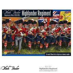 Warlord Games Black Powder  British (Napoleonic) Highlanders Regiment - 302211001 - 5060393706274
