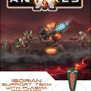 Warlord Games Beyond the Gates of Antares  Isorian Senatex Isorian Support team with Plasma Bombard - 502416006 - 5060572501157