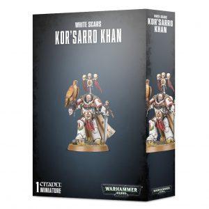 Games Workshop Warhammer 40,000  White Scars White Scars Kor'Sarro Khan - 99120101330 - 5011921142590