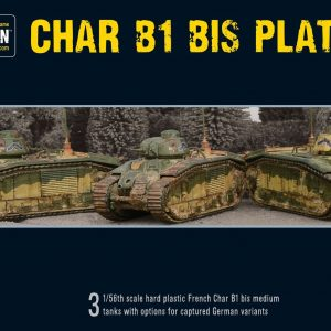 Warlord Games Bolt Action  France (BA) Char B1 bis Platoon - 402015501 - 5060393707813