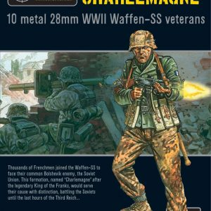 Warlord Games Bolt Action  Germany (BA) SS-Sturmbataillon Charlemagne - WGB-SS-02 - 5060393700036