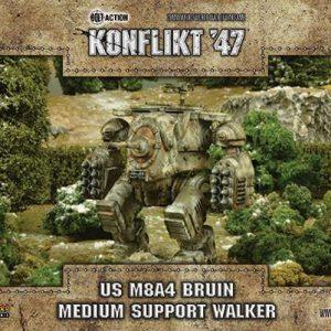 Warlord Games Konflikt '47  USA (K47) US Bruin Assault Walker - 452410401 - 5060393706359