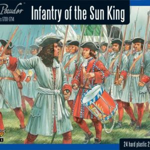 Warlord Games Black Powder  Marlborough's Wars Marlborough's Wars: Infantry of the Sun King - 302015003 - 5060393704645